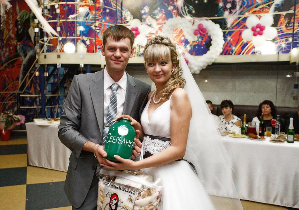 Банки для свадьбы